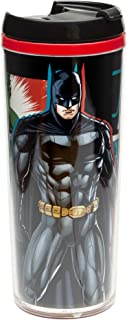 Zak Designs Justice League 7 oz. Insulated Travel Tumbler, Batman