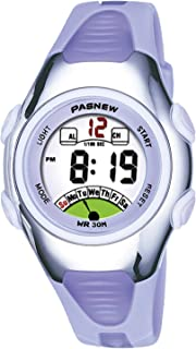 Kids Girls Waterproof Sports Digital Watches for Age 4-10