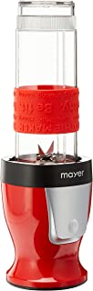 Mayer MMBC19 2 in 1 Blender and Chopper, Red