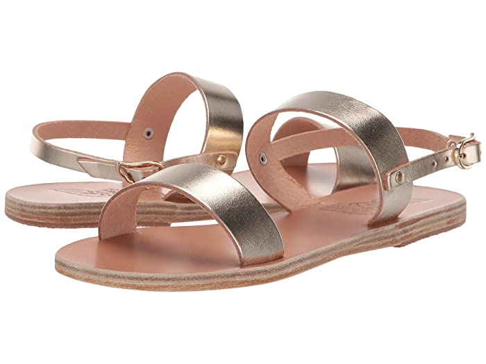Ancient Greek Sandals  Clio (Platinum) Womens Sandals