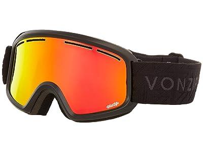 VonZipper Trike Goggle (Black Gloss/Fire Chrome Lens) Goggles