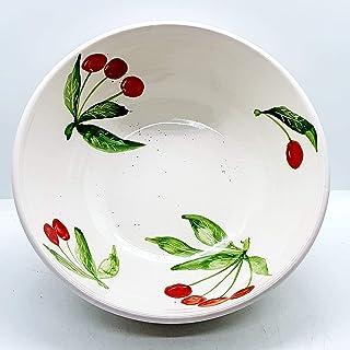 Ciotola Linea Ciliegie Ceramica Handmade Le Ceramiche del Castello Pezzo Unico Nina Palomba Made in Italy Dimensioni: 26 x...