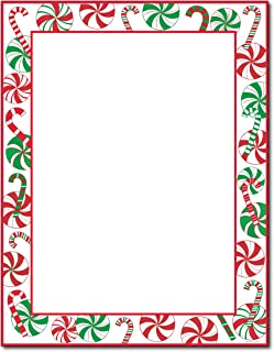 Peppermints Party Holiday Stationery - 80 Sheets by Great Papers!