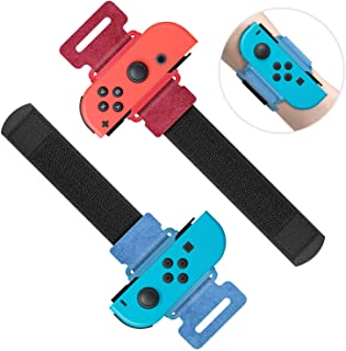 Wrist Bands for Just Dance 2020 2019 for Nintendo Switch Controller Game, Comfortable Adjustable Elastic Strap for Joy-Con...