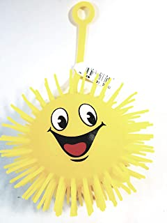 Spikey Yellow Emoji Big Smiling Silly Face 3