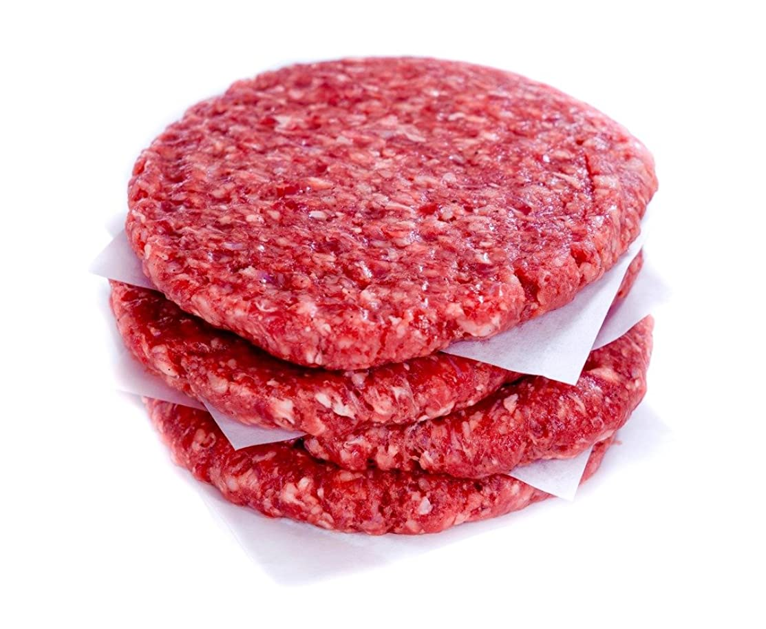 100% Grass Fed Beef Burgers 1/4 lb Package (30) $98.90