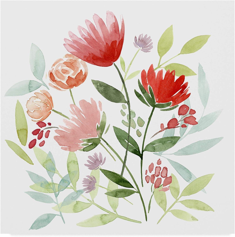 Trademark Fine Art Country Bouquet I by Grace Popp, 14x14