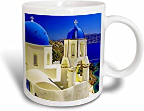3dRose mug_193524_2 Greece Santorini - Ceramic Mug, 15-ounce