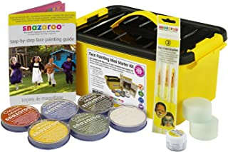 Snazaroo Face Paint Starter Kit with Carry Case
