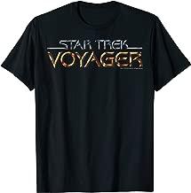 Star Trek Voyager Title Logo Graphic T-Shirt