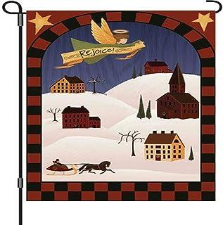 Premier Kites 51848 Garden Brilliance Flag, Rejoice, 12 by 18-Inch