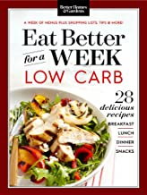 Eat Better for a Week: Low Carb