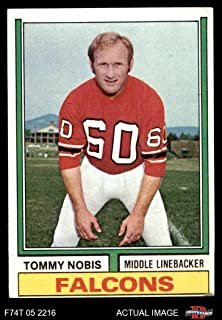 tommy nobis football card