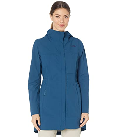 The North Face Allproof Stretch Parka (Monterey Blue) Women
