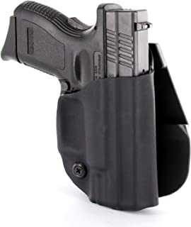 R&R Holsters: OWB Kydex Paddle Holster - Matte Black
