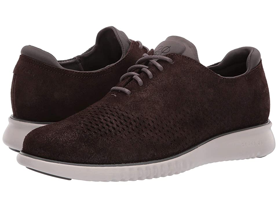 Cole Haan 2.Zerogrand Laser Wing Oxford (Black Walnut Nubuck/Magnet/Dove) Men