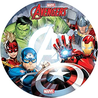 comprar comparacion Dekora - Decoracion Tartas de Cumpleaños Infantiles en Disco de Oblea The Avengers - 20 cm