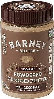 BARNEY Powdered Almond Butter, Chocolate, Paleo Friendly, KETO, Non-GMO, Skin-Free, 8 Ounce
