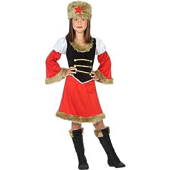 Atosa-56813 Disfraz Rusa, Color Rojo, 3 a 4 años (56813): Amazon ...