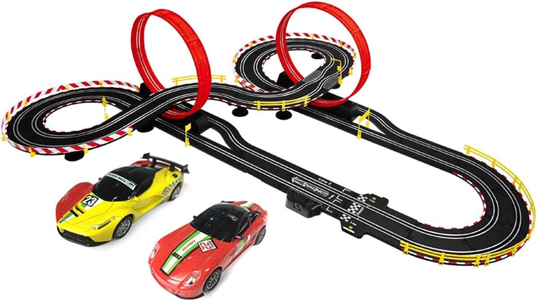 LINGLING Slot Car Vehicle Race Sets Tracks Racing Toy Sports Gam