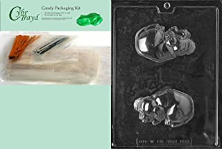 Cybrtrayd MdK50-A112 Dog Animal Chocolate Candy Mold with Packaging Kit