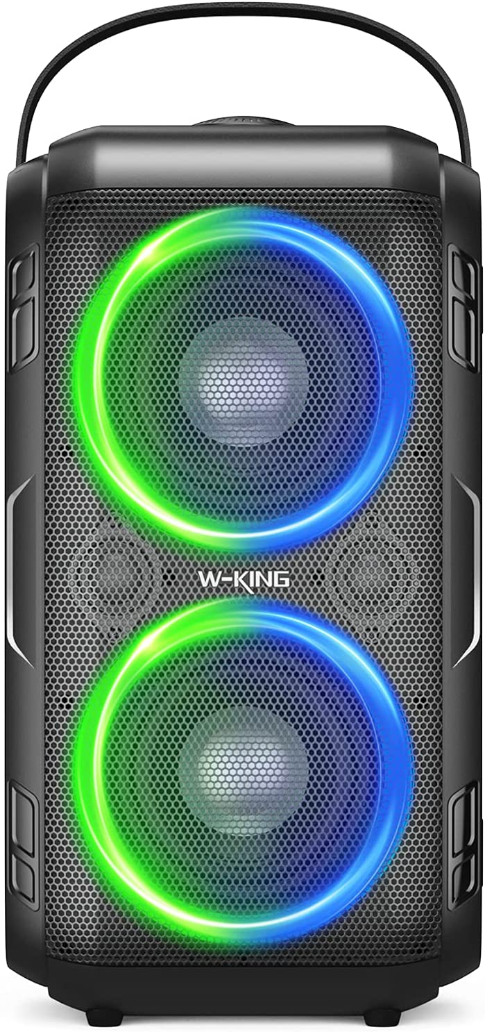 Bluetooth Speaker W-KING 80W Super Huge 105dB New product type Max 56% OFF Punchy Bass Soun