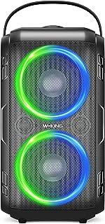 Bluetooth Speaker, W-KING 80W Super Punchy Bass, Huge...
