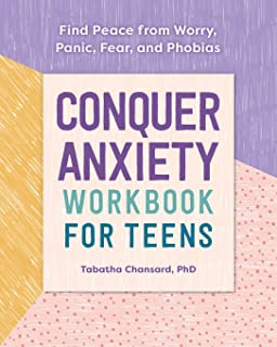 Sponsored Ad - Conquer Anxiety Workbook for Teens: Find Peace from Worry, Panic, Fear, and Phobias