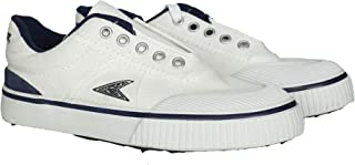 Power Match White Boys Lace Sneakers