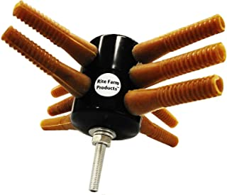 Rite Farm Products L10 Drill Chicken Plucker Picker 10 Fingers Duck Goose Turkey Rubber