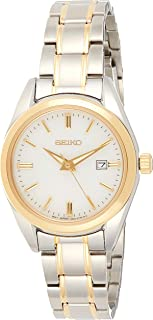 Seiko Neo Classic Dual Tone Silver/Gold Stainless Steel Analog Women's Watch - SUR636P1