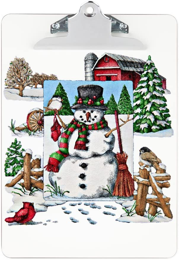 New Orleans Mall Clipboard Christmas Snowman and Max 55% OFF Cardinals