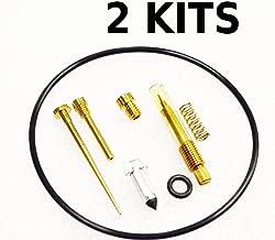2x Kawasaki 76-78 KZ400 A D S Carburetor Carb Rebuild Kit - 2 KITS