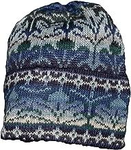 Invisible World Women's 100% Alpaca Wool Hat Knit Unisex Beanie Winter Seasons