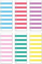 Best numbered sticky notes Reviews