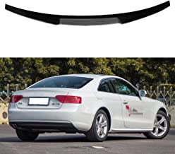 Carbon fiber rear trunk boot spoiler for Audi A5 2 door coupe M4 style 2009-2016