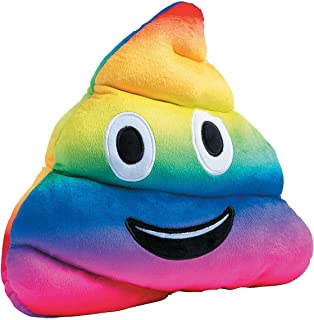 Fun Express Rainbow Poop Poo Plush - 11 Inches