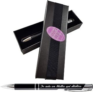 Stylo - Je suis un Maître qui déchire + Boite Cadeau - Cadeau Maître d'école – instituteur – professeur des écoles …
