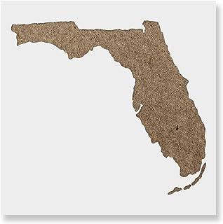 フロリダ州ステンシル - 再利用可能なペイント用ステンシル - DIYフロリダ州のクラフトやプロジェクトの作成