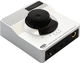 USB 24 Bit 96 KHz DAC Digital to Analog Headphone Amplifier 2 Stage EQ Digital/Coaxial Output and RCA Output