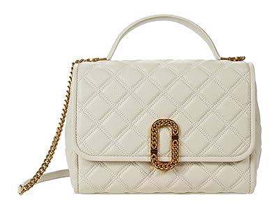 Marc Jacobs The Status Top-Handle (Oatmilk) Handbags