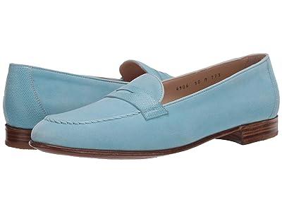 Gravati Penny Loafer (Turquoise) Women