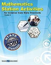 Station Activities for Common Core Mathematics, Grade 6