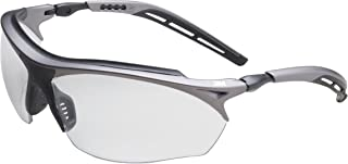 3M Maxim GT Protective Eyewear, 14248-00000-20 I/O Mirror Lens, Metallic Gray and Black Frame (Pack of 1)