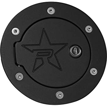 RBP (6070KL-RX2) Fuel Door, Black