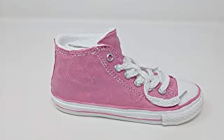 Findlavender Canvas Look Hi-Top Sneaker Coin Piggy Bank (Pink)