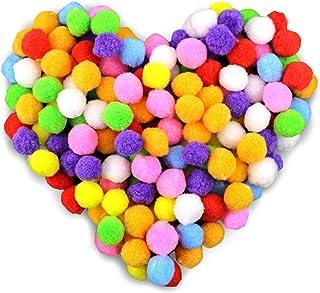 comprar comparacion Gifort Pompones, Coloridos Pompones Balls, 250pcs / 2.0-2.5cm Bolas de Peluche Mullidas para Bricolaje, Manualidades y Dec...