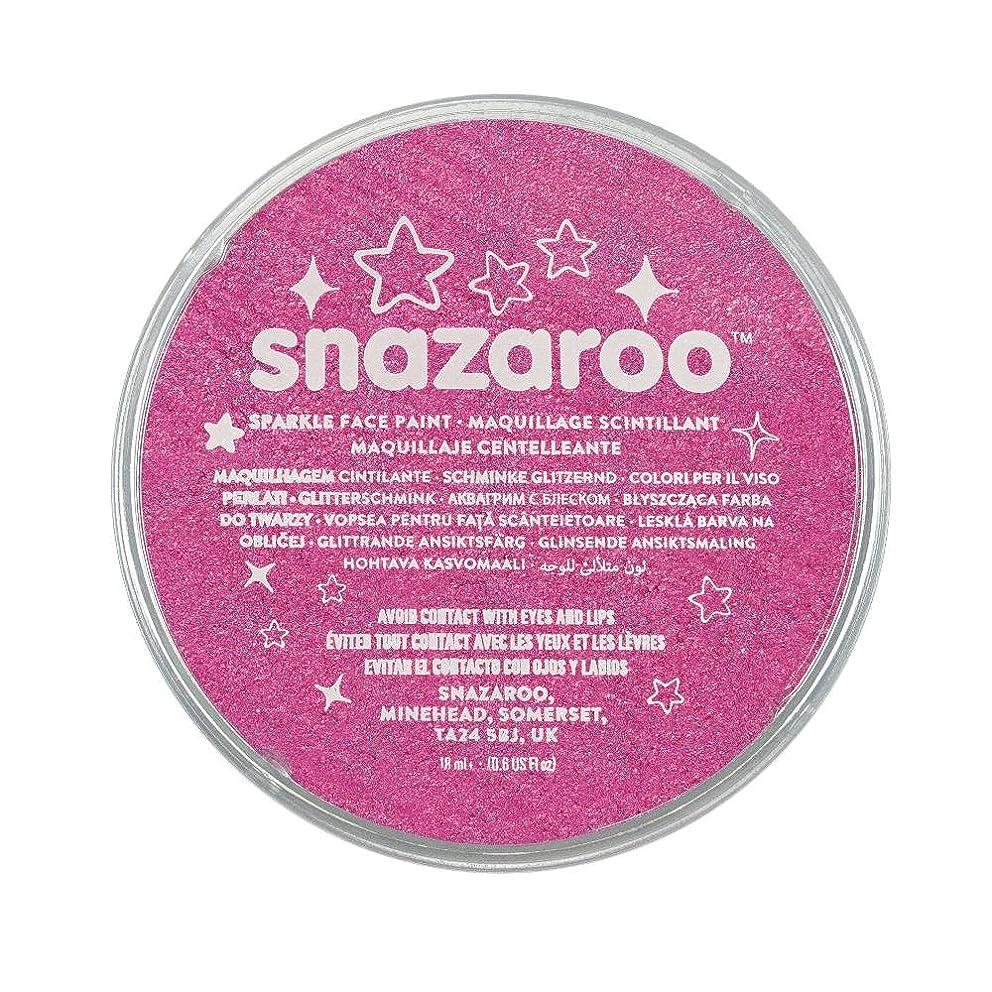 Snazaroo Sparkle Face Paint, 18ml, Sparkle Pink
