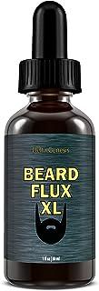 Beard Flux XL | Caffeine Beard Growth Stimulating Oil for Facial Hair Grow | Fuel Healthy Growth | Fragrance Free Beard Oil