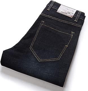 Be fearless Mens Spring Autumn Stretch Black Denim Jeans Casual Baggy Pants Designer Jeans Men